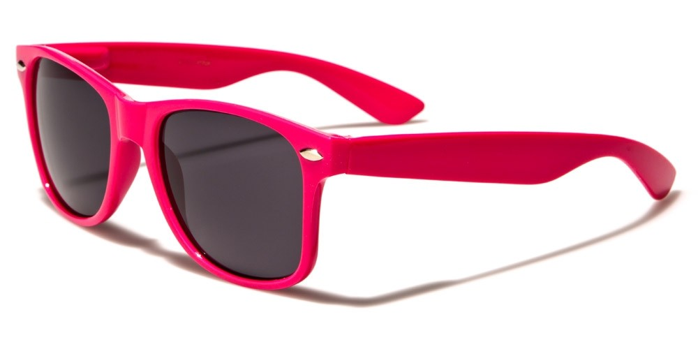 Classic Pink Unisex SUNGLASSES Wholesale WF01-PINK - One Pair