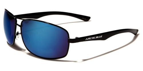 Arctic Blue Rectangle Men's Bulk SUNGLASSES AB12MIX