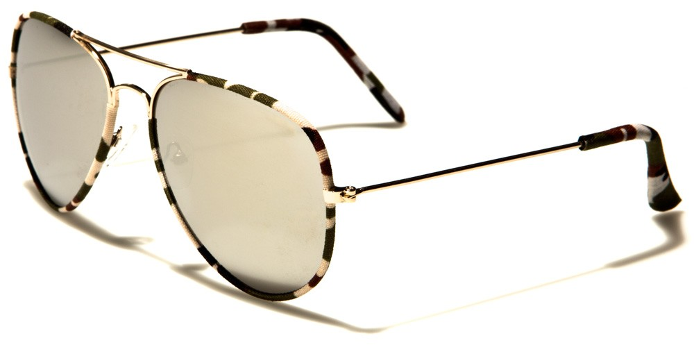 Air Force Aviator Camouflage SUNGLASSES Wholesale AF101-CAMO