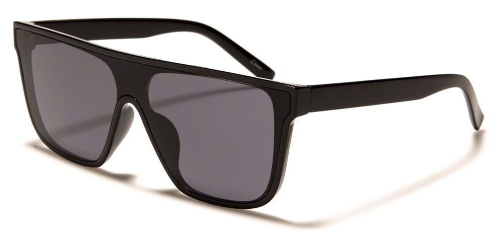 Flat Top Rectangle Unisex Sunglasses in Bulk P6531