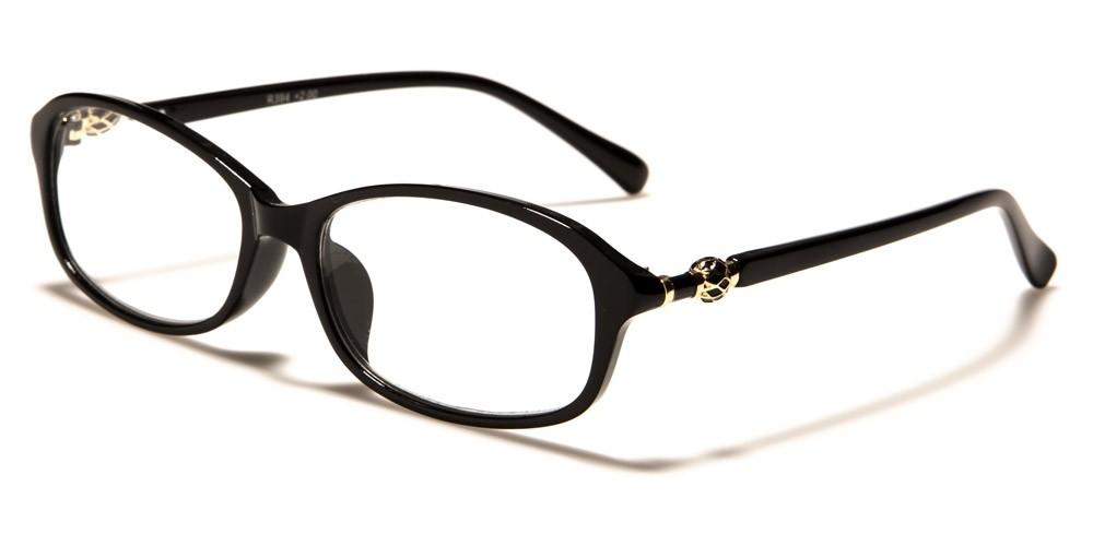 Chic Oval Women's Reading Glasses Wholesale R394-ASST