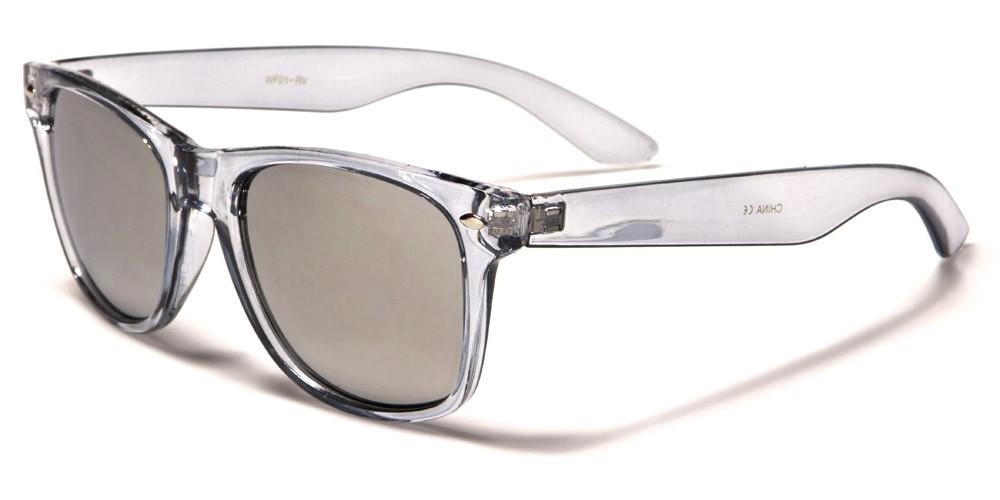 Classic Mirrored Unisex Sunglasses Wholesale WF01RV