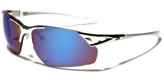 Arctic Blue Semi-Rimless Sunglasses Wholesale AB-23