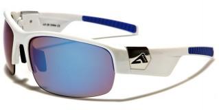 Arctic Blue Semi-Rimless Wholesale Sunglasses AB-26