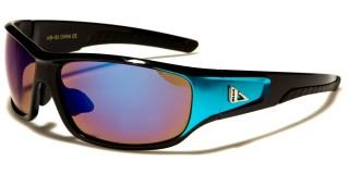 Arctic Blue Oval Men's Wholesale Sunglasses AB-31