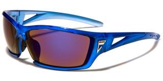 Arctic Blue Rectangle Men's Sunglasses Wholesale AB-34