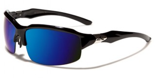 Arctic Blue Semi-Rimless Sunglasses Bulk AB10MIX
