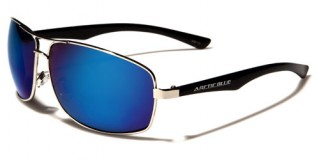 Arctic Blue Rectangle Men's Bulk Sunglasses AB12MIX