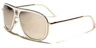 Biohazard Aviator Unisex Wholesale Sunglasses BZ66200