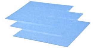 Blue Microfiber Cleaning Cloths In Bulk CCLOTH-A12BLU