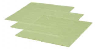 Green Microfiber Cleaning Cloths In Bulk CCLOTH-A12GRN