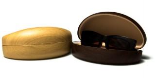 Faux Wood Sunglasses Cases Wholesale CV844