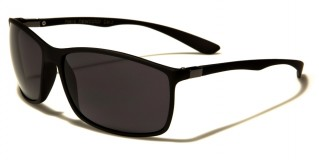 Flex Rubber Rectangle Men's Sunglasses Wholesale FR-P9815