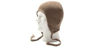 Beige Sports Snowboard Ski Earflap Bulk Hat Beanie HSH1603