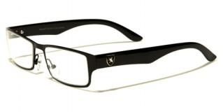 Khan Rectangle Men's Glasses Wholesale KN3361CLR
