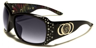 Kleo Rhinestone Women's Sunglasses Wholesale LH3105RH