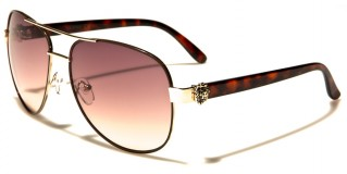 Kleo Aviator Women's Sunglasses Wholesale LH7810