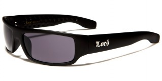 Locs Rectangle Men's Sunglasses In Bulk LOC9003-MB