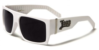 Locs Rectangle Men's Sunglasses Wholesale LOC91010-WHT
