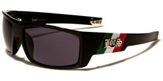 Locs Mexican Flag Colors Wholesale Sunglasses LOC91025-MEX