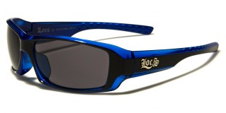 Locs Rectangle Men's Sunglasses In Bulk LOC91042-BKBL