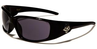Locs Oval Men's Sunglasses Wholesale LOC91051-BK