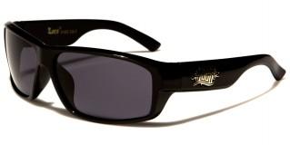 Locs Rectangle Men's Wholesale Sunglasses LOC91053
