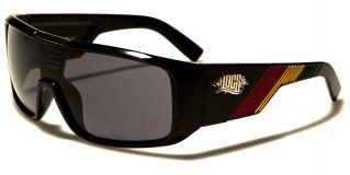 Locs Rasta Colors Men's Wholesale Sunglasses LOC91059-RAS