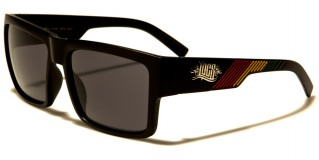 Locs Rasta Colors Men's Sunglasses Wholesale LOC91061-RAS