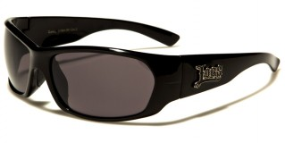Locs Oval Men's Sunglasses Bulk LOC91064-BK