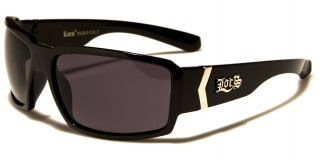 Locs Rectangle Men's Sunglasses Wholesale LOC91084-BK