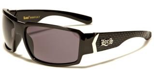 Locs Rectangle Men's Sunglasses Wholesale LOC91084-CB