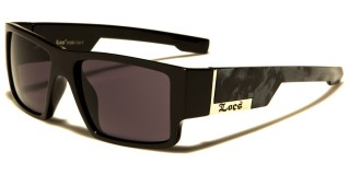 Locs Square Men's Sunglasses Wholesale LOC91085-MIX