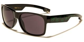 Locs Marijuana Print Men's Sunglasses Wholesale LOC91093-MJ