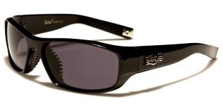 Locs Rectangle Men's Wholesale Sunglasses LOC91096-BK