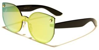 Cat Eye Rimless Women's Wholesale Sunglasses M10284
