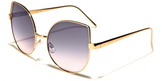 Cat Eye Flat Lens Women's Bulk Sunglasses M10320-FT-OC