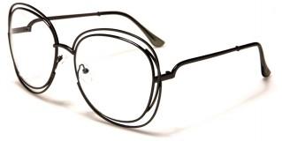 Oversized Butterfly Unisex Glasses Bulk M10332-CLR