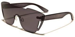 Rimless One Piece Unisex Sunglasses in Bulk P6246-CM