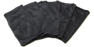 Black Nylon Wholesale Pouches POUCH-A13