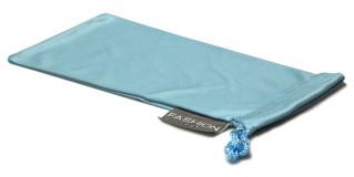 Light Blue Fashion Microfiber Wholesale Pouches POUCH-A15LTBLU