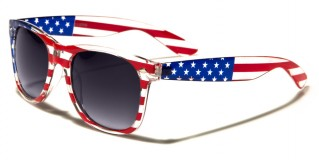 USA Flag Classic Unisex Glasses Wholesale W-7110-FLAG