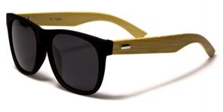 Classic Bamboo Polarized Sunglasses In Bulk W-7838PL
