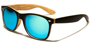 Classic Wooden Pattern Sunglasses Wholesale W-7855RV