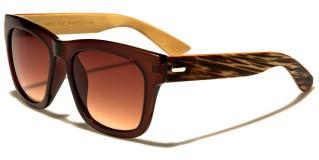 Classic Wood Unisex Sunglasses In Bulk WD-2001