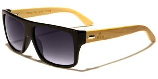 Classic Wood Unisex Sunglasses In Bulk WD-2002