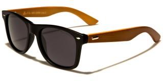 Classic Wood Polarized Sunglasses In Bulk WD-2005-POL