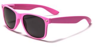 Classic Unisex Sunglasses In Bulk WF01-LTPINK