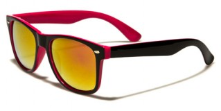Classic Two-Tone Unisex Sunglasses Wholesale WF04-2T