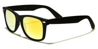 Classic Mirrored Unisex Wholesale Sunglasses WF04RV